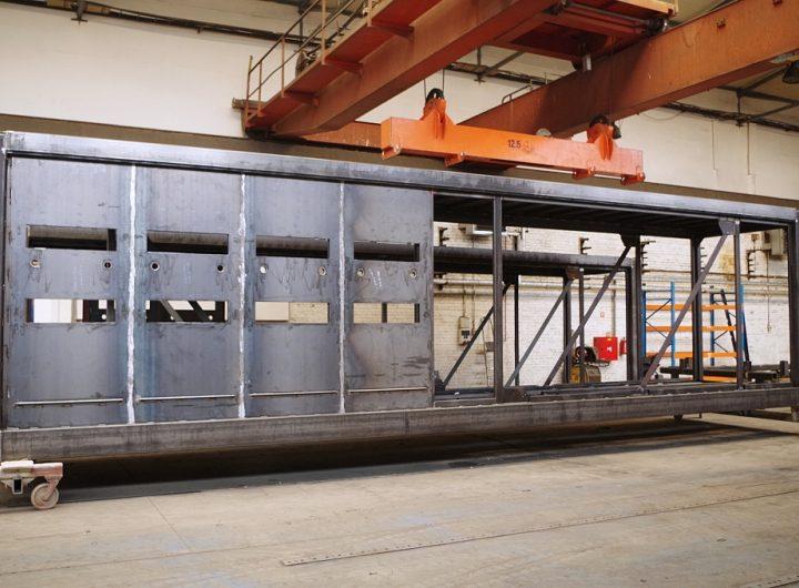 Technologické kontejnery pro elektrozařízení