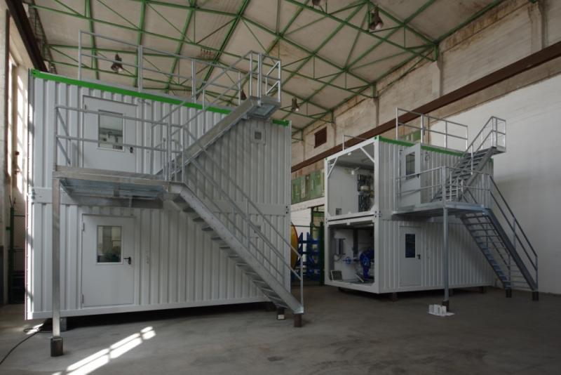 technologické kontejnery modulární