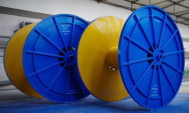 výroba ocelových transportních cívek