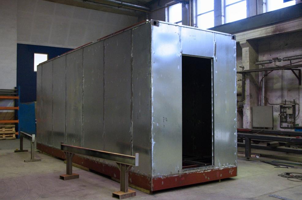 technologické kontejnery, výroba technologických kontejnerů