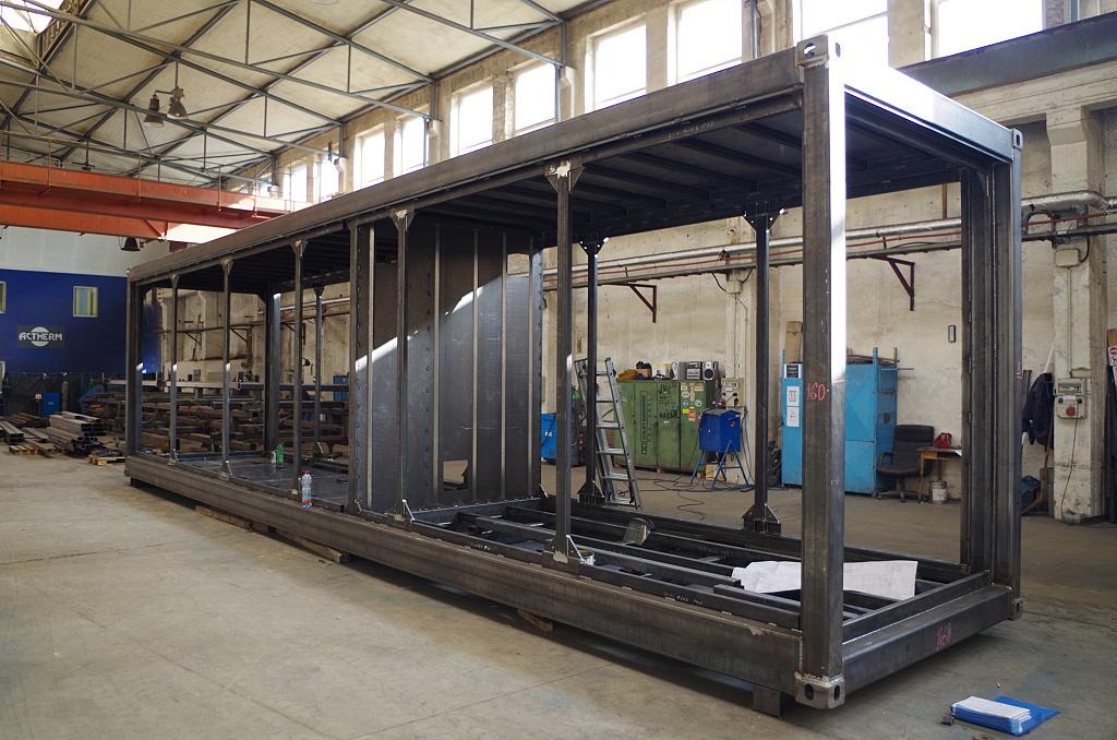 výroba technologických kontejnerů