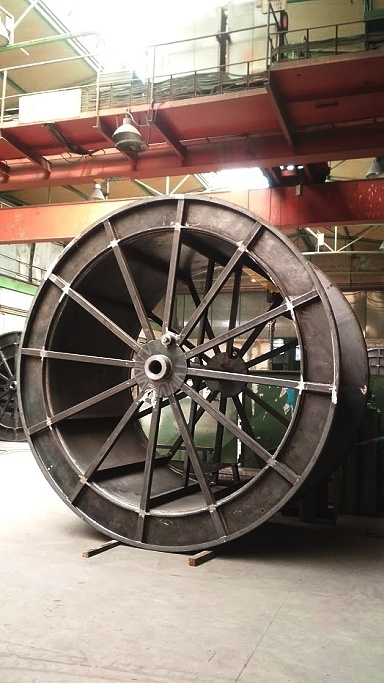 výroba transportní ocelové cívky