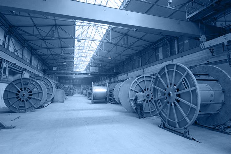 výroba transportních cívek