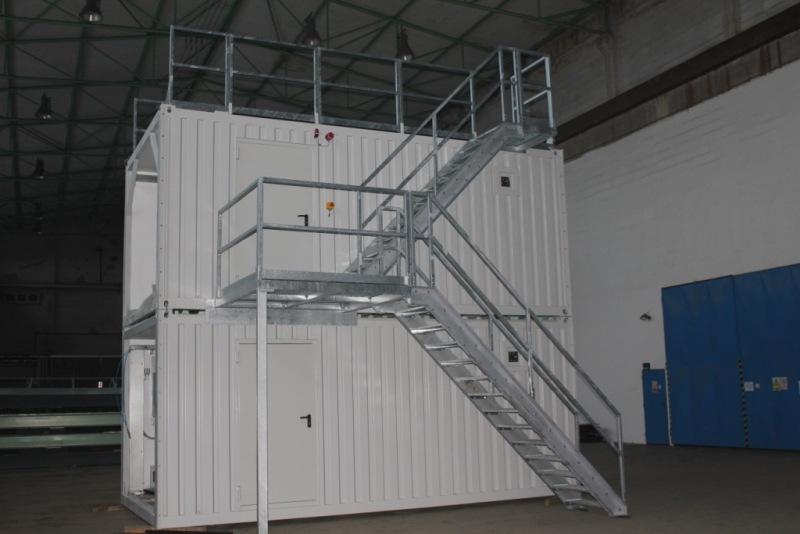 technologische und technische Container