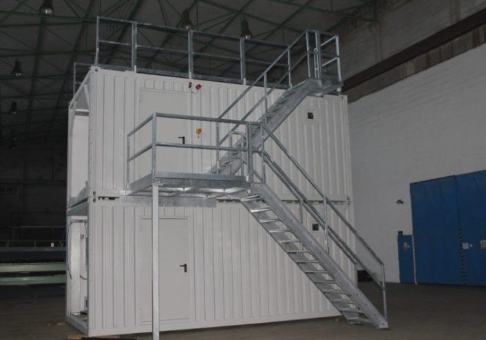 technologické kontejnery patrové