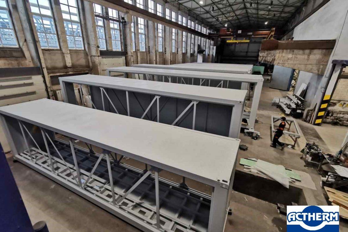 technologické kontejnery, výroba kontejnerů