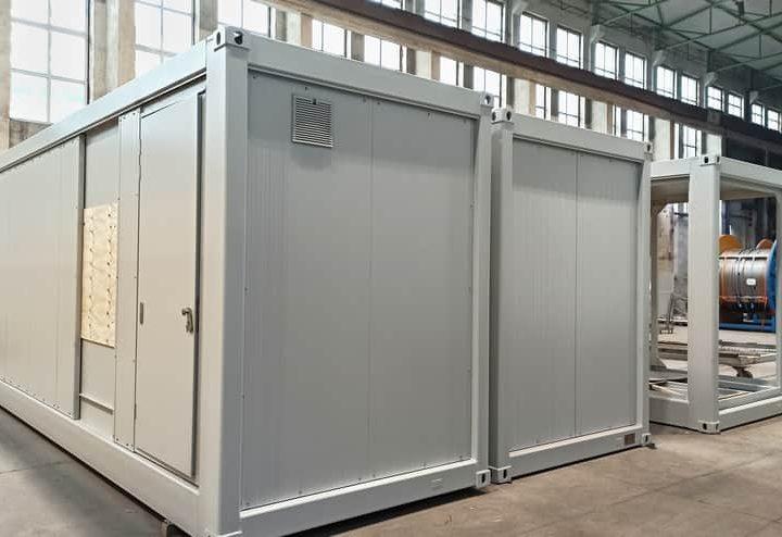 Herstellung von technologischen Containern