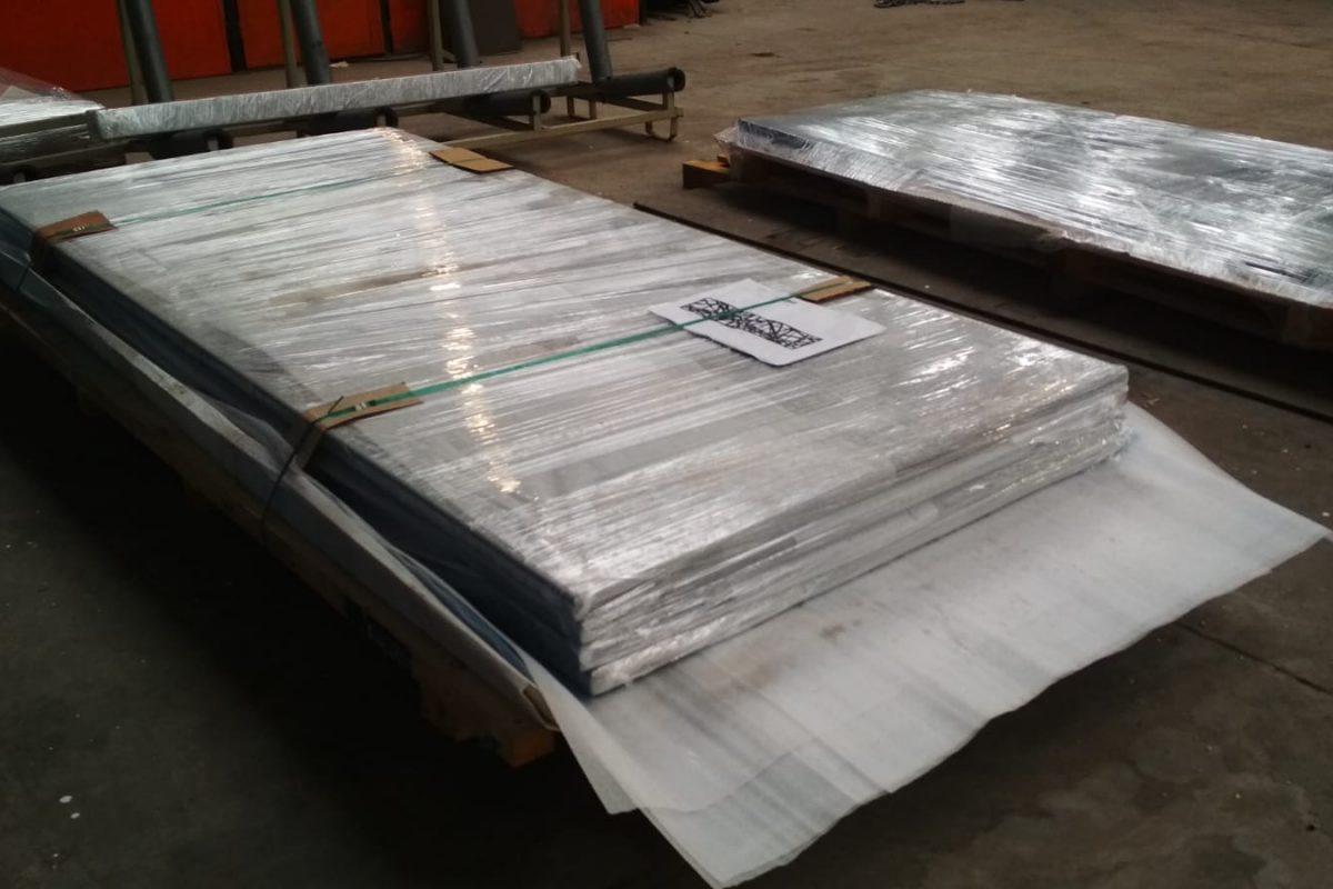 hliníkové ploty ve výrobě